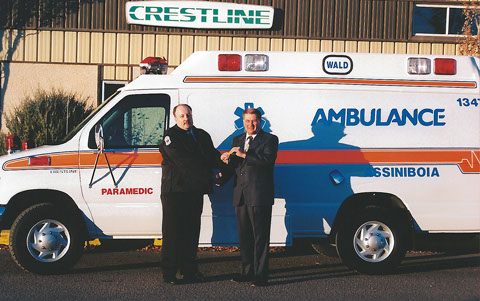 Wald Ambulances throughout the years